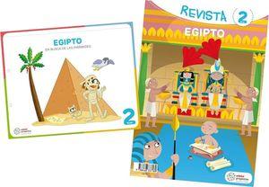 4AÑOS. EGIPTO EN BUSCA DE LAS PIRAMIDES EDEBE