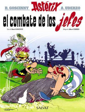 ASTERIX. EL COMBATE DE LOS JEFES