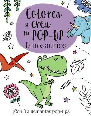 COLOREA Y CREA TU POP-UP DINOSAURIOS