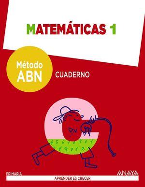 1EP. CUADERNO MATEMATICAS METODO ABN ANAYA