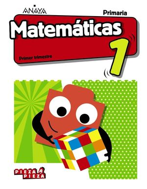 1EP. MATEMATICAS PIEZA A PIEZA + TALLER RESOLUCION PROBLEMAS ANDALUCIA 2019 ANAYA