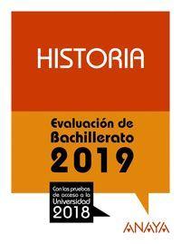 HISTORIA EVALUACION DE BACHILLERTADO 2019
