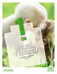 1ESO. BIOLOGIA Y GEOLOGIA SUMA PIEZAS ANDALUCIA ANAYA