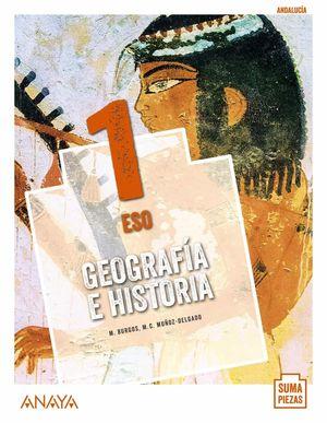 1ESO. GEOGRAFIA E HISTORIA MONOVOLUMEN SUMA PIEZAS ANDALUCIA ANAYA