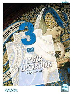 3ESO. LENGUA Y LITERATUR SUMA PIEZAS ANDALUCIA ANAYA