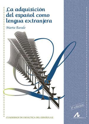 ADQUISICION ESPAÑOL LENGUA EXTRANJERA