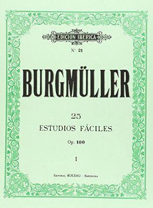 BURGMULLER 25 STUDIOS FACILES OP. 100 VOL. I