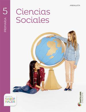 C.SOCIALES ANDALUCIA + ATLAS 5 PRIMARIA CASTELLANO