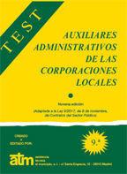 AUXILIARES ADMINISTRATIVOS DE LAS CORPORACIONES LOCALES TEST ATM