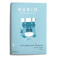 MUNDO VIAJERO RUBIO COMPETENCIA LECTORA 3 RUBIO