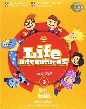 3EP. LIFE ADVENTURES 3 EJER+HOME BOOKLET+@ CAMBRIDGE