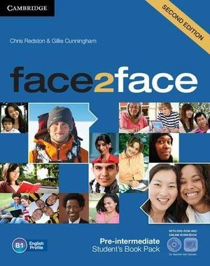 FACE2FACE FOR SPANISH SPEAKERS SECOND EDITION PACKS PRE-INTERMEDIATE PACK (STUDENT S BOOK WITH DVD-ROM, SPANISH SPEAKERS HANDBOOK WITH CD, WORKBOOK WITH KEY) CAMBRIDGE