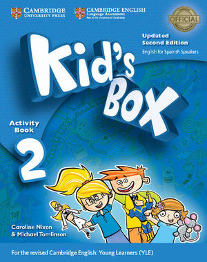 2EP. KIDS BOX LEVEL 2 ACTIVITY BOOK WITH CD-ROM UPDATED ENGLISH CAMBRIDGE