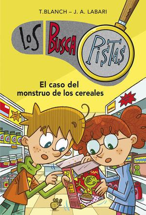 BUSCAPISTAS 6. EL CASO DEL MONSTRUO DE LOS CEREALES