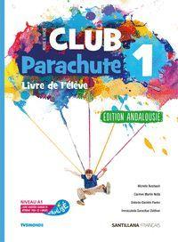 1ESO. CLUB PARACHUTE 1 PACK ELEVE ANDALUCIA SANTILLANA