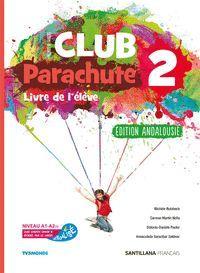 2ESO. CLUB PARACHUTE 2 PACK ELEVE ANDALUCIA SANTILLANA
