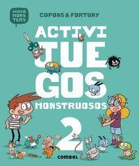 AGUS Y LOS MONSTRUOS ACTIVIJUEGOS MONSTRUOSOS 2