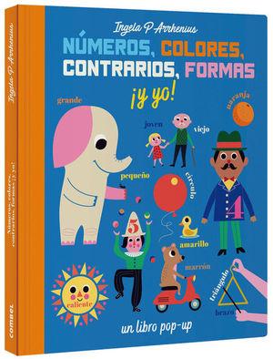 NUMEROS, COLORES, CONTRARIOS, FORMAS Y YO