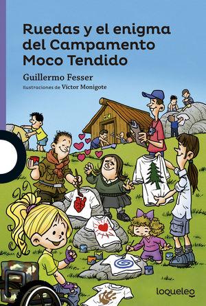 RUEDAS Y ENIGMA CAMPAMENTO MOCO TENDIDO