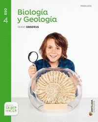 4ESO. BIOLOGIA Y GEOLOGIA + CUADERNO ANDALUCIA SANTILLANA