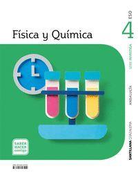 4ESO. FISICA Y QUIMICA ANDALUCIA SABER HACER CONTIGO ED21 SANTILLANA