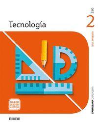 2ESO. TECNOLOGIA INVENTA (ANDALUCIA) SABER HACER CONTIGO 2021 SANTILLANA