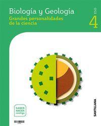 4ESO. BIOLOGIA Y GEOLOGIA ANDALUCIA SABER HACER CONTIGO ED21 SANTILLANA