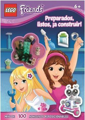 LEGO FRIENDS 6+ PREPARADOS,LISTOS,A CONSTRUIR