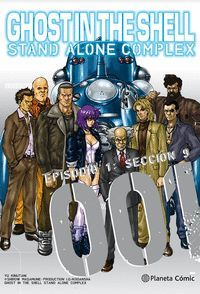 GHOST IN THE SHELL STAND ALONE COMPLEX Nº01/05