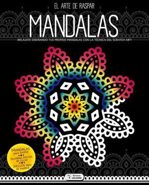 INICIATE EN EL ARTE DE RASPAR MANDALAS 2