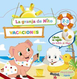 CUADERNO VACACIONES GRANJA DE NITO 2-3 AÑOS ALGAIDA