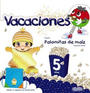 5AÑOS. CUADERNO VACACIONES PALOMITAS DE MAIZ ALGAIDA