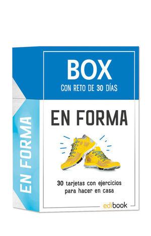 BOX CON RETO DE 30 DIAS EN FORMA