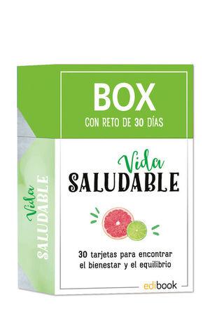 BOX CON RETO DE 30 DIAS VIDA SALUDABLE