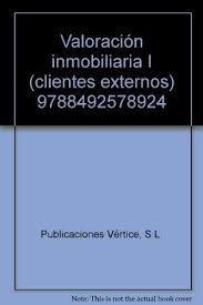 VALORACION INMOBILIARIA I