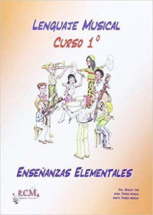 LENGUAJE MUSICAL 1 TEORIA ENSEÑANZAS ELEMENTALES RCM