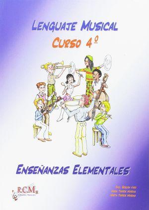 LENGUAJE MUSICAL 4 TEORIA ENSEÑANZAS ELEMENTALES RCM