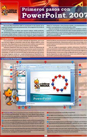 GUIA DE MICHA, PRIMEROS PASOS CON POWERPOINT 2007, LA
