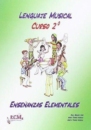 LENGUAJE MUSICAL 2 TEORIA ENSEÑANZAS ELEMENTALES RCM