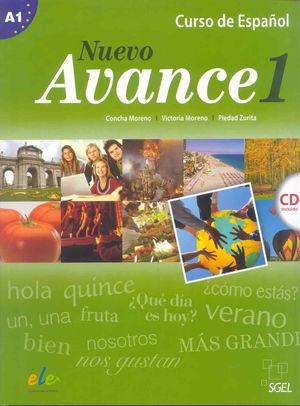 AVANCE 1 LIBRO ALUMNO + CD