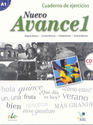 NUEVO AVANCE 1 CUADERNO EJERCICIOS + CD