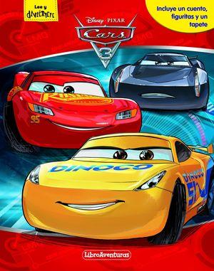 CARS 3. LIBROAVENTURAS. MI LIBRO-JUEGO