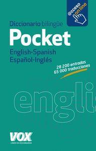 DICCIONARIO POCKET ENGLISH-SPANISH / ESPAÑOL-INGLES