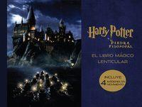 LIBRO MAGICO LENTICULAR DE HARRY POTTER Y LA PIEDRA FILOSOFAR