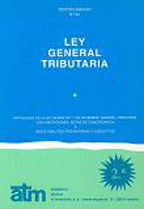 LEY 58/2003 GENERAL TRIBUTARIA ATM