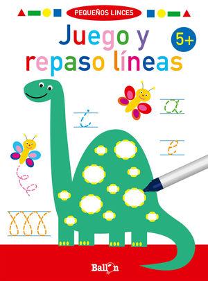 JUEGO Y REPASO LINEAS +5