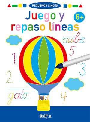 JUEGO Y REPASO LINEAS +6
