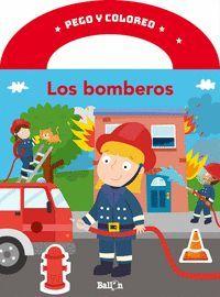PEGO Y COLOREO LOS BOMBEROS