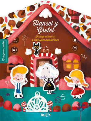 STICKERS HANSEL Y GRETEL