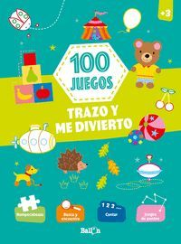 100 JUEGOS TRAZO Y ME DIVIERTO +3